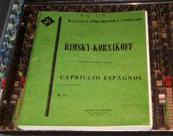 The Rimsky Korsakov score