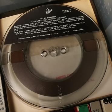The Dolby encoded tape (reel)