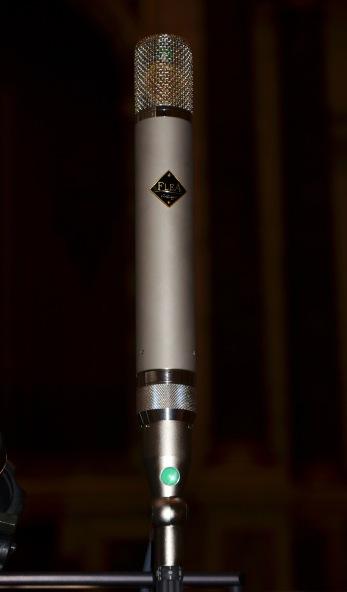 Flea (AKG) C12 microphone