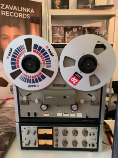 Denon DH-710 on Zavaliknka Records stand
