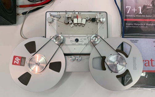 Nagra 4.2S on Zavalinka Records stand