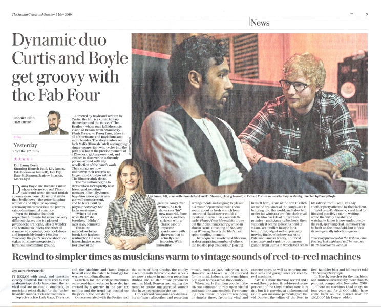 Sunday Telegraph R2R article 2