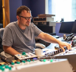 Mastering engineer John Webber