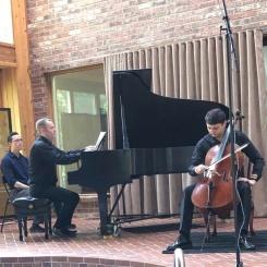 UltraAnalogue's Ed Pong records Armenian cellist Narek Hakhnazaryan