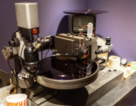 The Neumann VMS 80 lathe