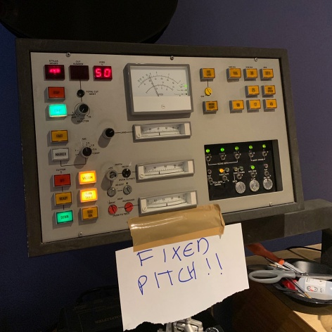 The VMS80 control panel