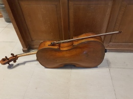 The Cello and bow