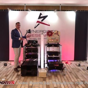 AV Showrooms show set-up