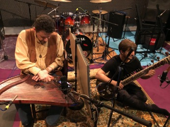 Sitar & Gusly recording session