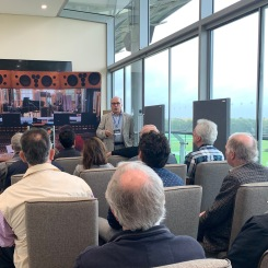 Ken Kessler presents in the R2R Rambler room at Hi-Fi Show Live 2019