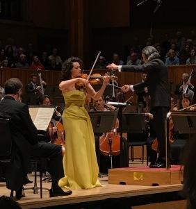 Alena Baeva performs at London's Royal Festival Hall