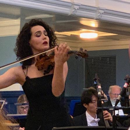 Alena plays in Oxford