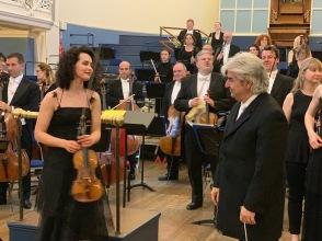 Alena Baeva at Oxford Concert - 3
