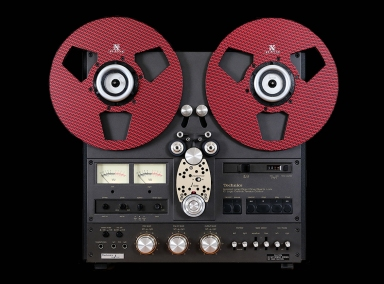 RX Reels Arena Red on Technics RS1560