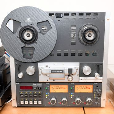 RX Reels - one on Studer A810