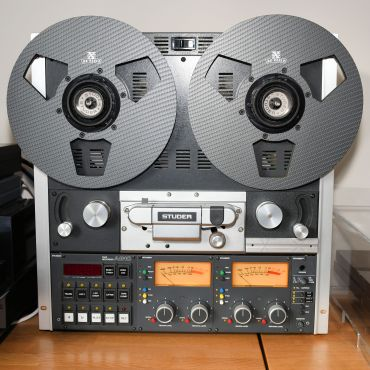 RX Reels - two on Studer A810