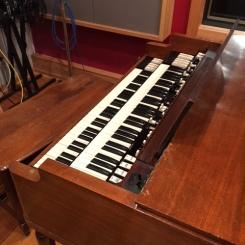 Organ keyboard