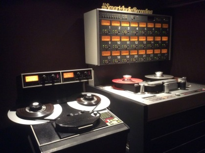 2 track and 24 track master recorders