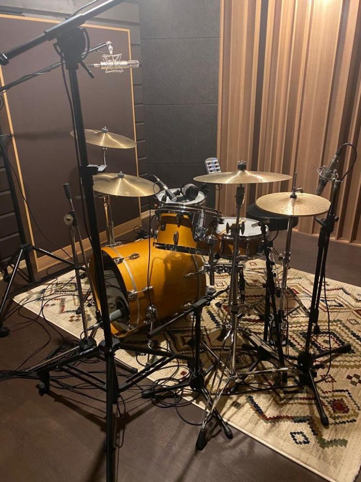 Smart Audio Recording Lab_drum kitjpeg